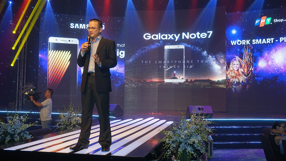 Galaxy Note 7 Event Secret Night