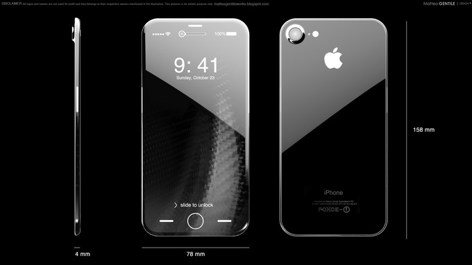 Một concept iPhone 8