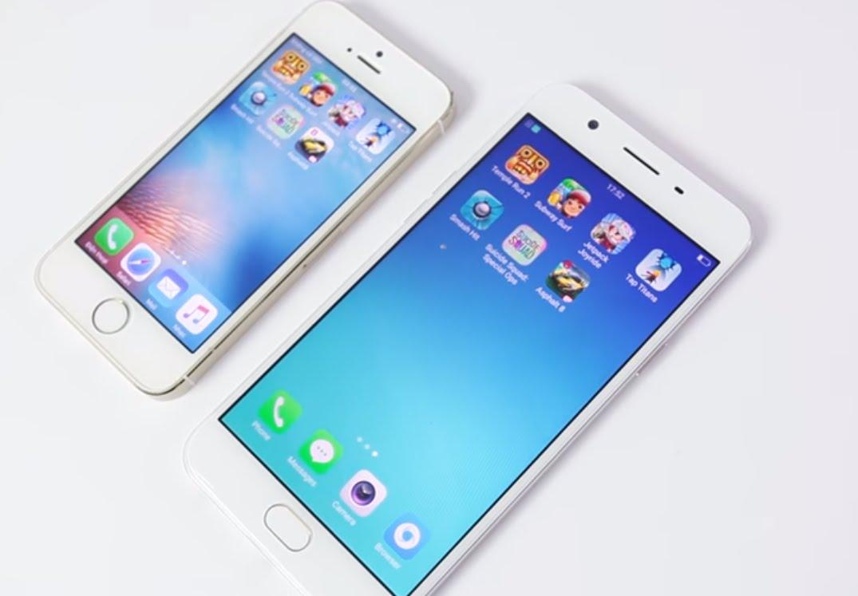 Cả 2 đang giảm giá: Mua OPPO F1s hay iPhone 5s?