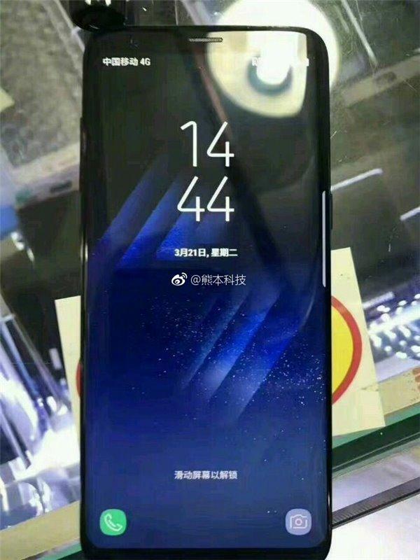 Galaxy S8 tiếp tục lộ ảnh sắc nét trên tay người dùng
