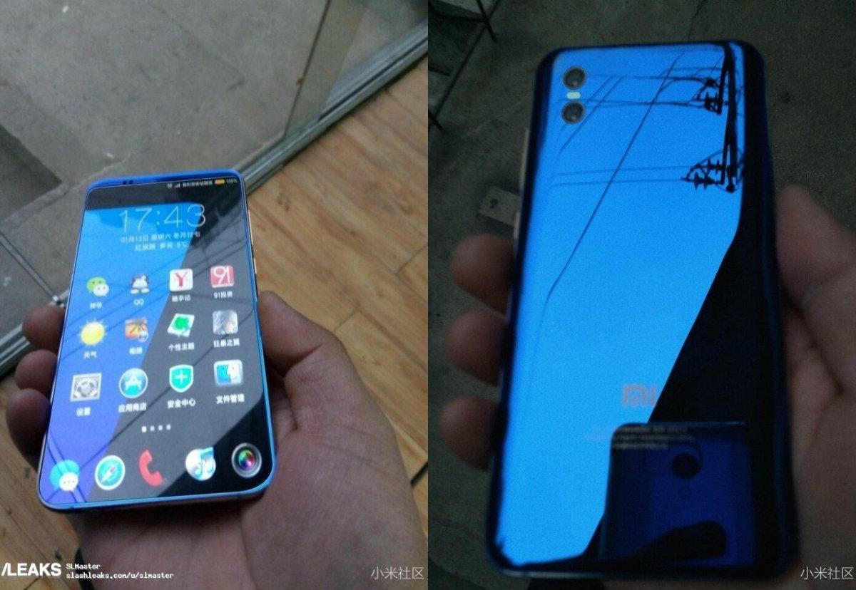 Xiaomi Mi 7 chip Snapdragon 845, camera kép lộ ảnh thực tế trên tay người dùng