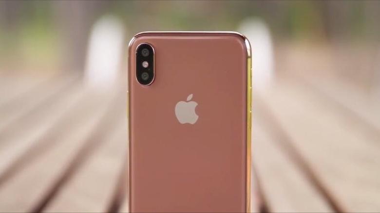 HOT: iPhone X màu hồng vàng sắp sửa lên kệ
