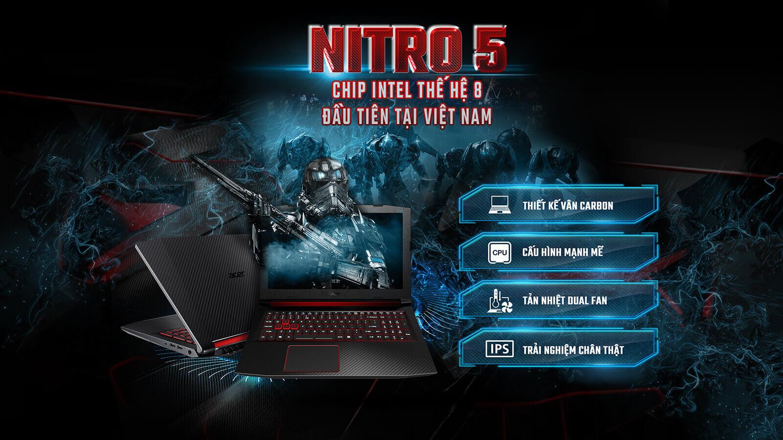 Acer Nitro 5-AN515-52-75FT