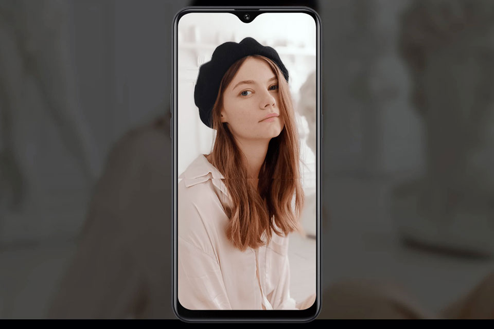 OPPO A5s Selfie với AI Beautification 2.0