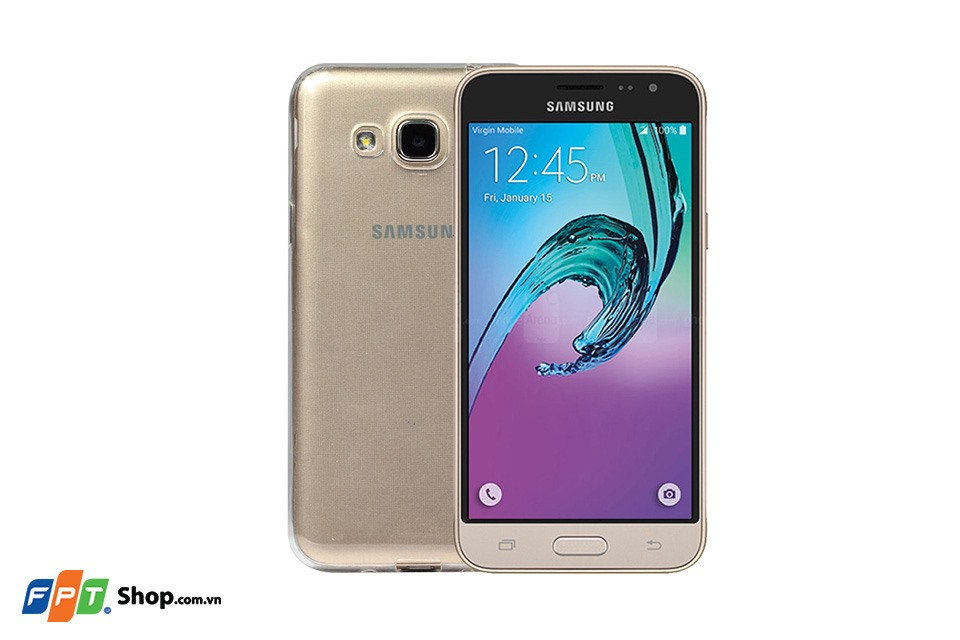 Ốp lưng Samsung J3 Silicon Trong