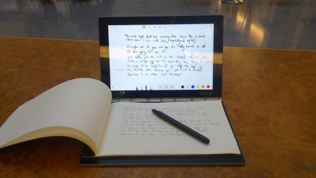 Cảm nhận về Real Pen trên Lenovo Yoga Book