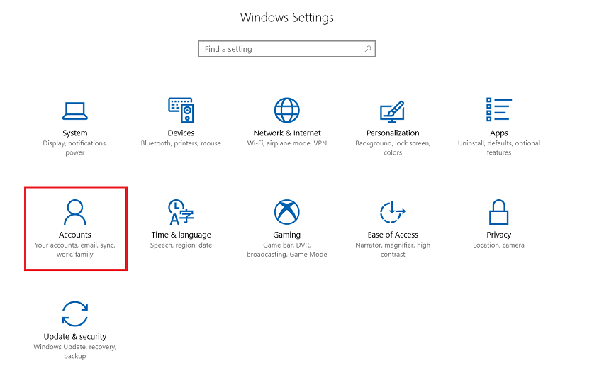 Face detection on Windows 10