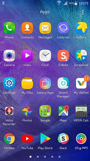 chia sẻ ảnh chụp màn hình điện thoại Android