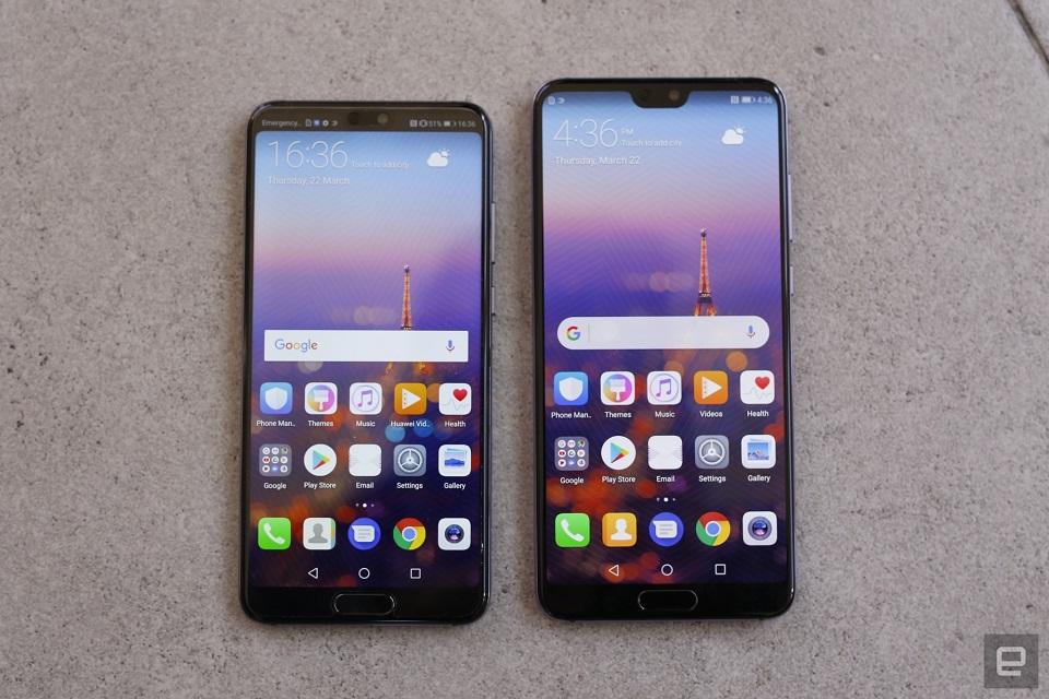 So sánh Huawei P20 và P20 Pro