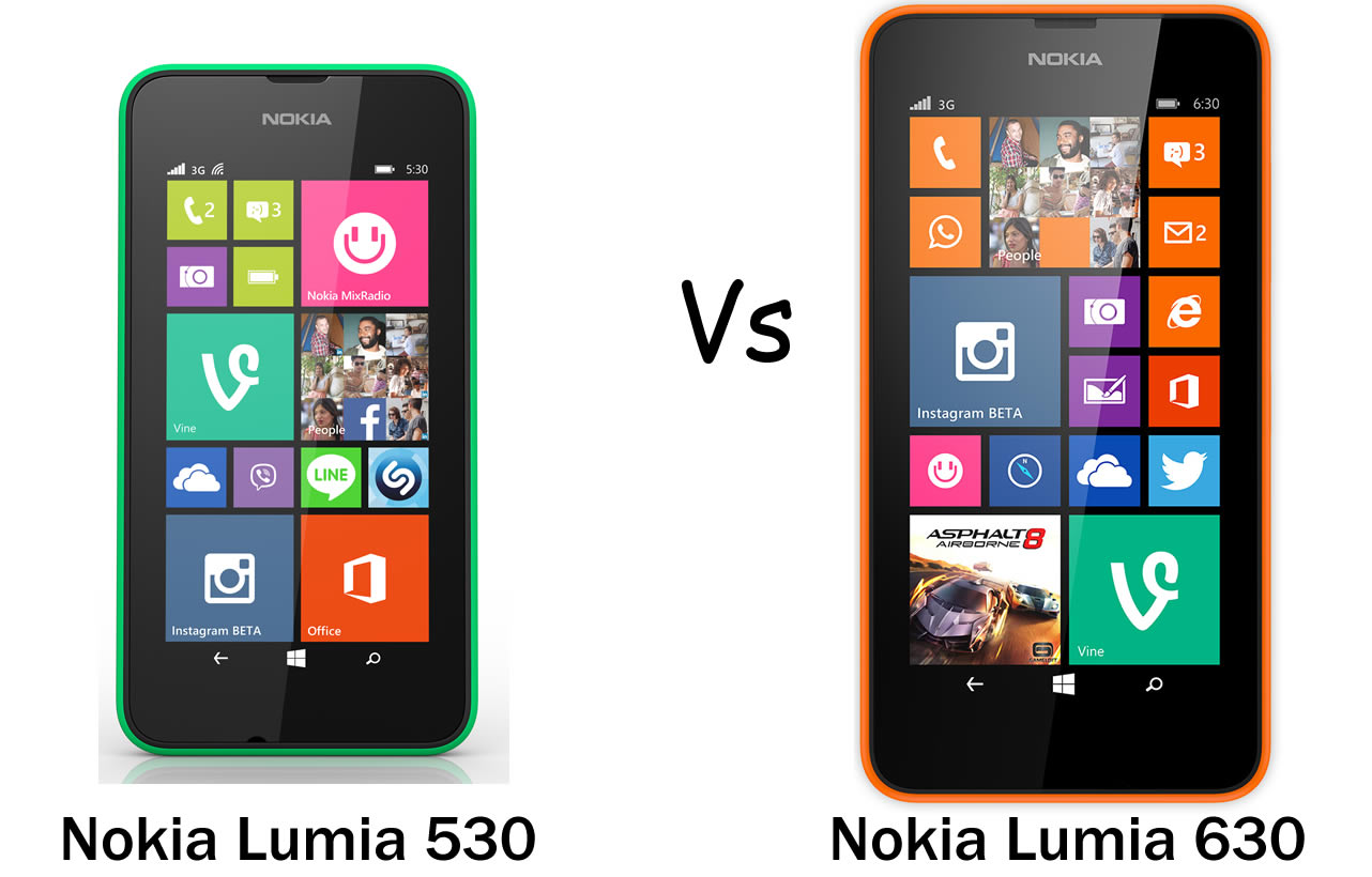 Nokia-Lumia-530-vs-Nokia-Lumia-630