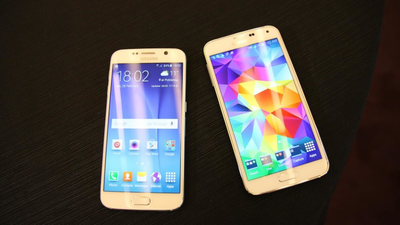 Samsung-Galaxy-S6-vs-Samsung-Galaxy-S5
