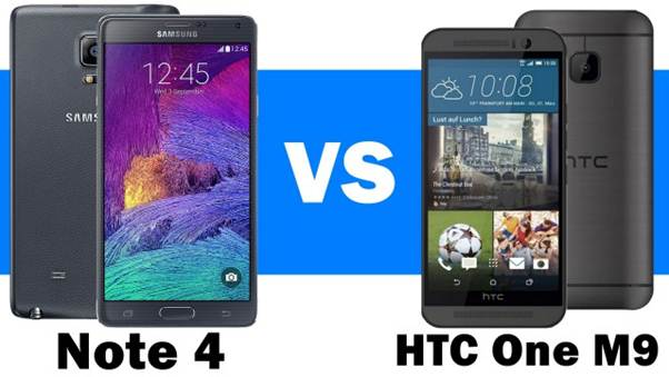 HTC-One-M9-vs-Samsung-Galaxy-Note-4
