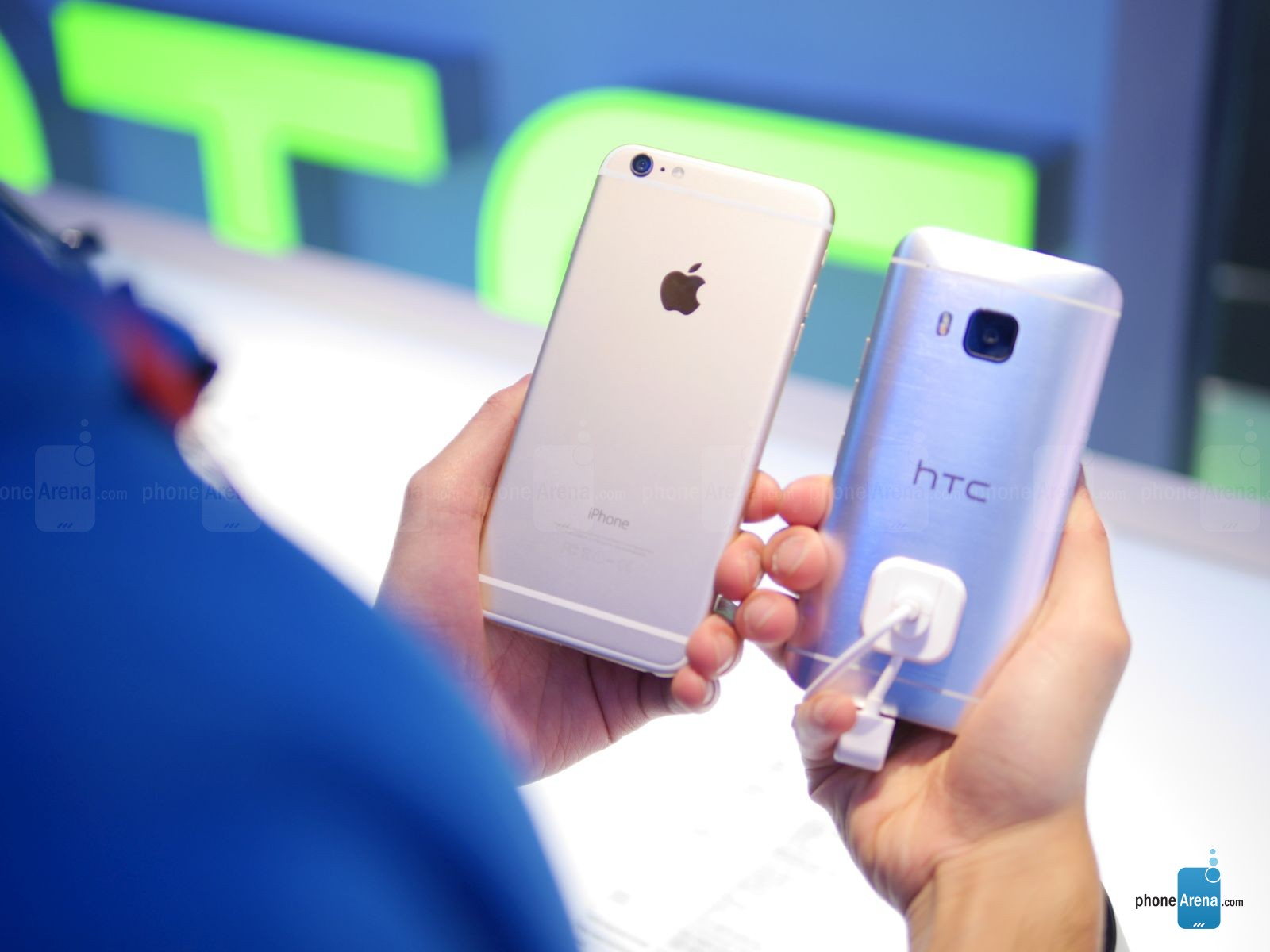 So sánh HTC One M9 với Apple iPhone 6 Plus