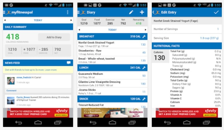 Calorie-Counter-MyFitnessPal