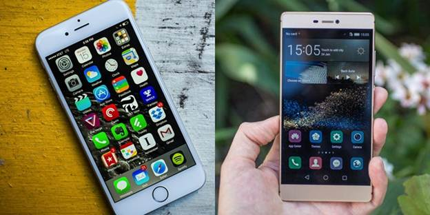 Huawei-P8-vs-Apple-iPhone-6