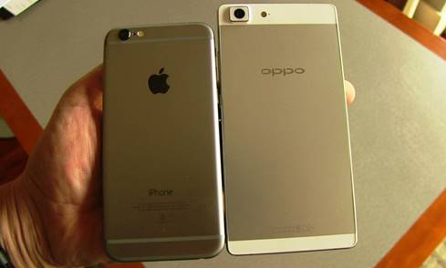 Oppo-R5-iPhone-6