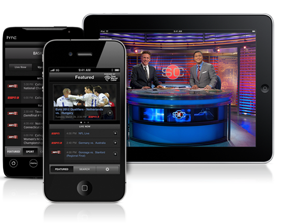 WatchESPN (Android, iOS)