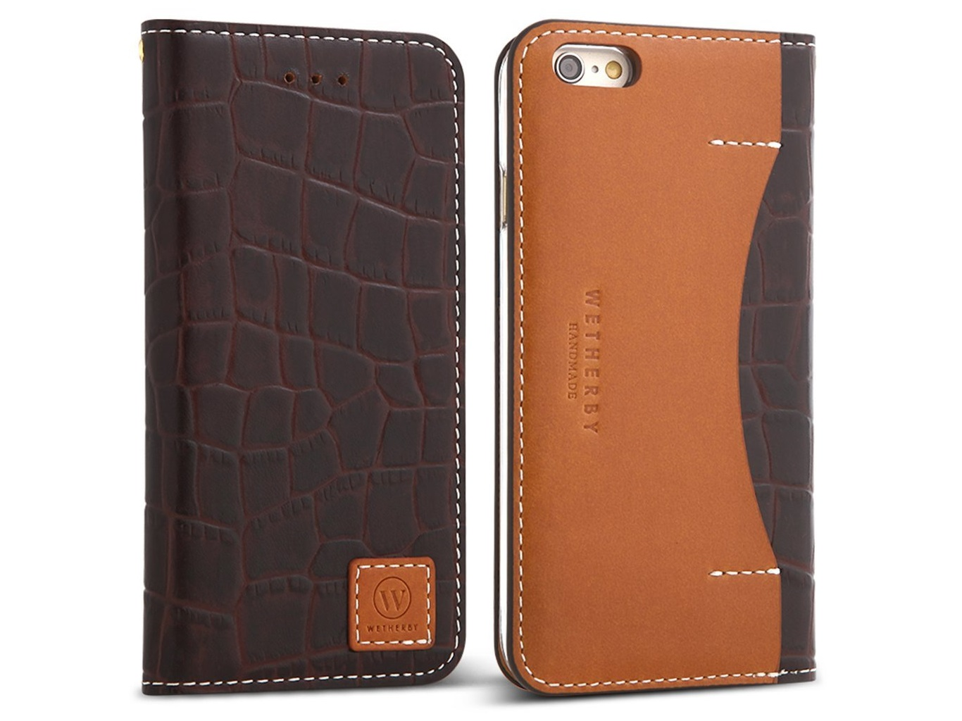 DesignSkin WETHERBY PREMIUM CROCO genuine leather case