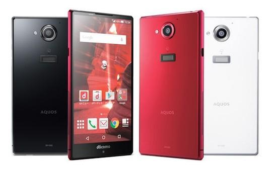 Ngoại hình chiếc điện thoại Aquos Zeta SH-03G