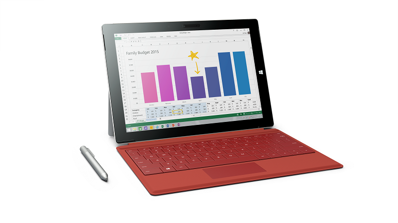 Thiết kế Surface 3
