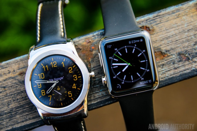 Apple Watch OS và Android Wear