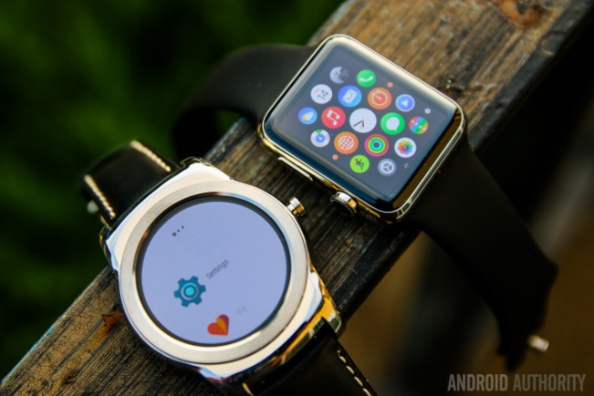 Watch OS 1.0 và Android Wear
