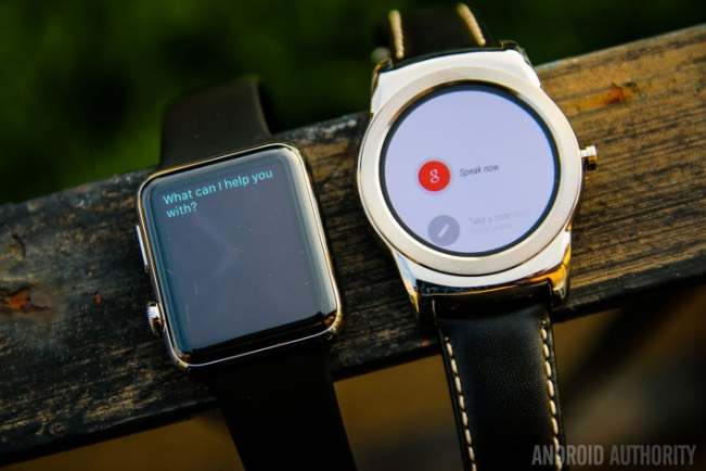 Android Wear và Apple Watch