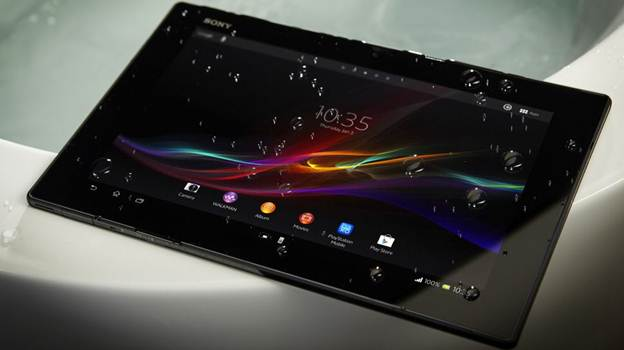 Thiết kế Sony Xperia tablet Z4