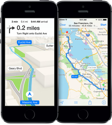 Apple mua lại GPS Navigation Coherent