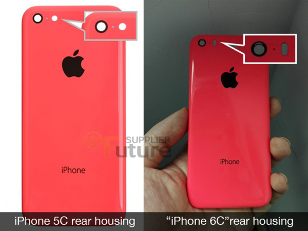 iPhone 5C vs iPhone 6C