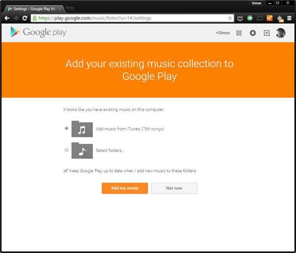 Sử dụng Google Play Music trên Galaxy S6