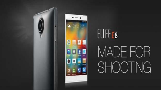 Thông số kỹ thuật của Gionee Elife E8