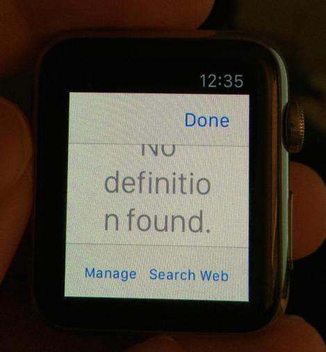 trình duyệt web trên Apple Watch
