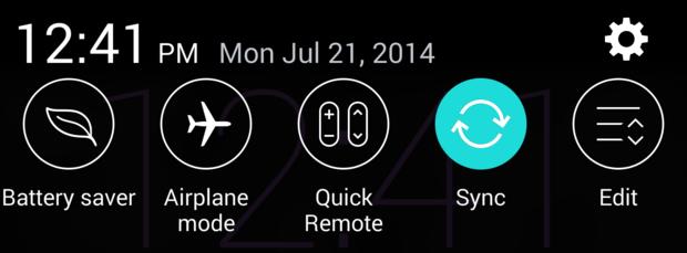 Thay đổi Quick Settings trên LG G3