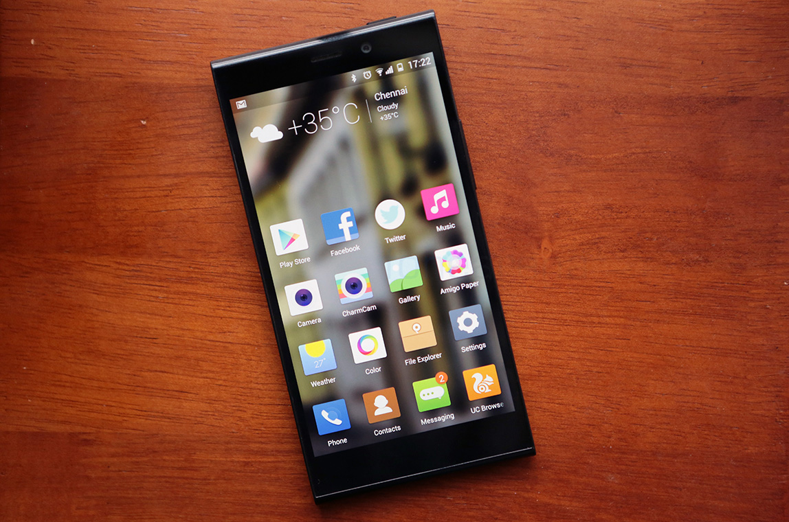 Thiết kế Gionee Elife E7