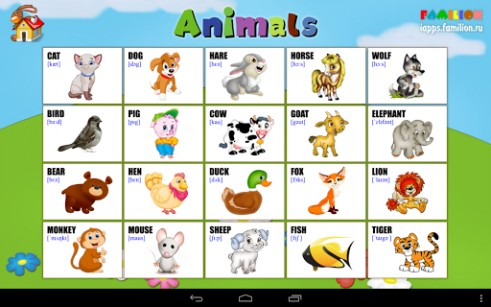 English for kids for Android