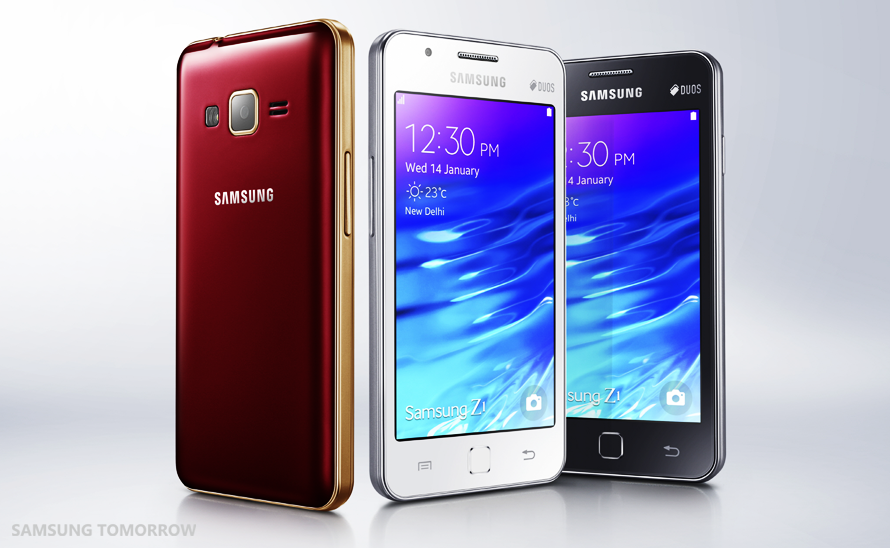 thiết kế những chiếc Samsung Z1
