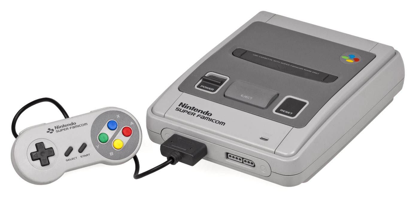 Hệ máy chơi game Super Nintendo Entertainment System