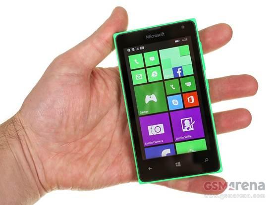 Man hinh Lumia 435