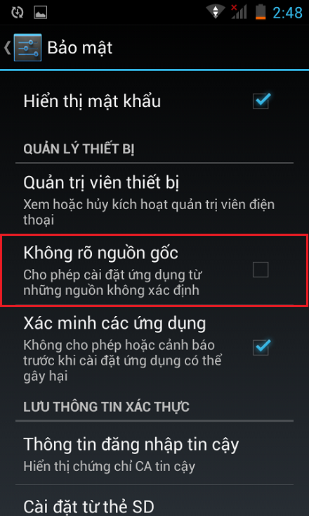 Cai ung dung tren HTC Desire 616