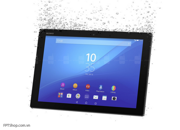 Thiết kế Sony Xperia Z4 Tablet