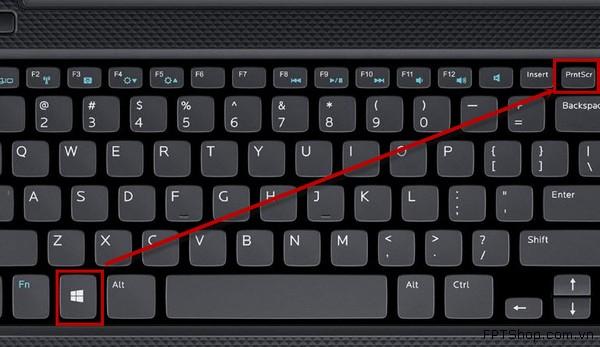 Chụp màn hình cho Windows 8 bằng bàn phím