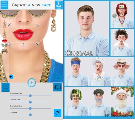 ứng dụng Create A New Face