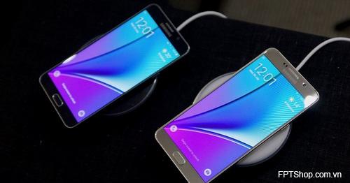 Sạc nhanh với Galaxy Note 5