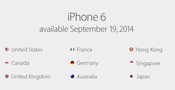 iPhone 6 năm ngoái được bán ra vào ngày 19/9 và ngay lập tức có hàng xách tay