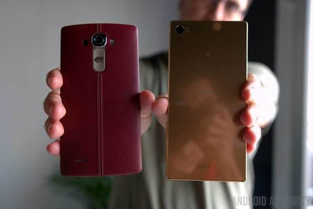 Sony Xperia Z5 Premium đọ sức LG G4