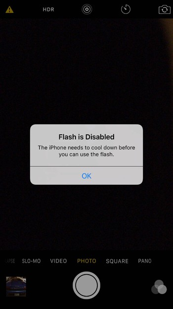 đèn flash iphone 6s
