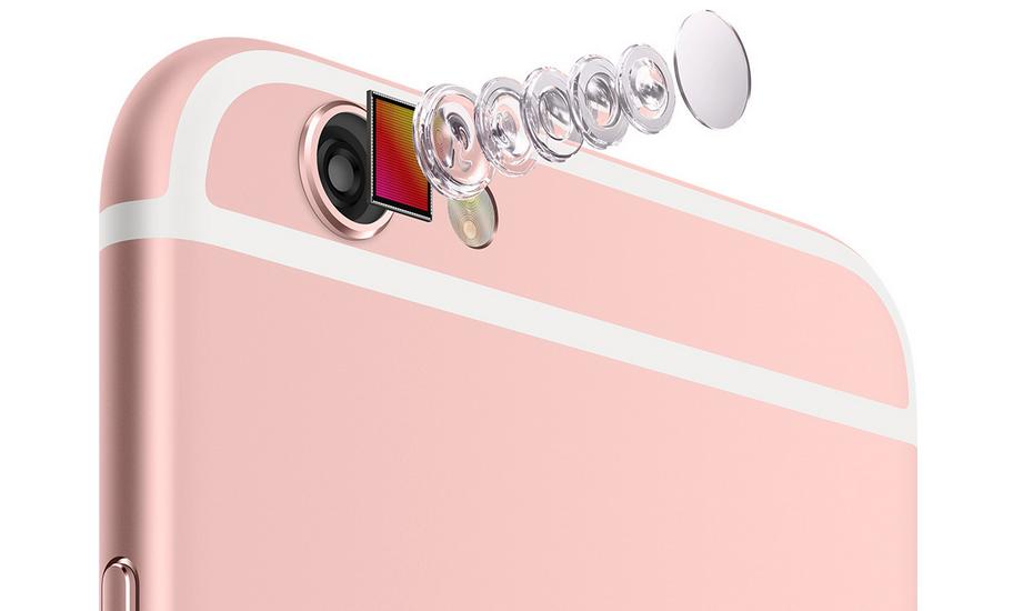 thiết kế camera của iPhone 6s và 6s Plus