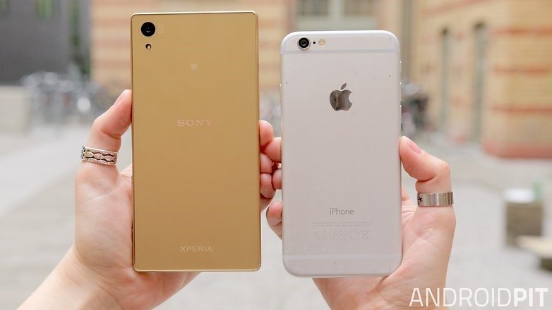 Lựa chọn Xperia Z5 hay iPhone 6s