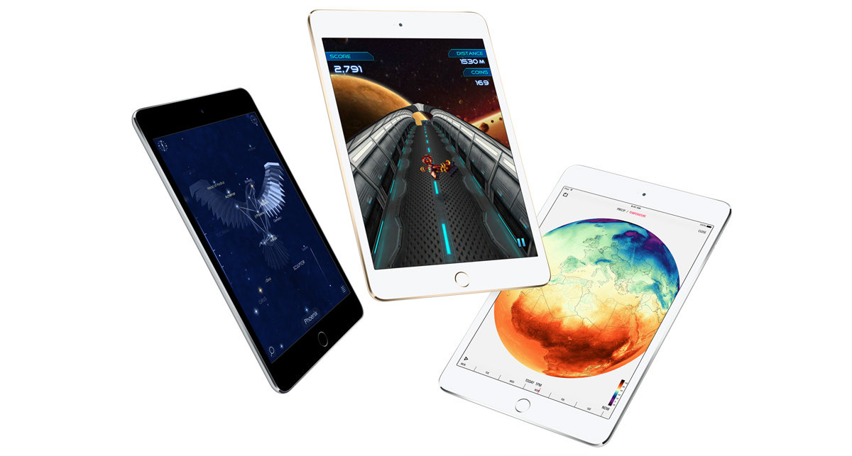 so sánh ipad mini 4 với ipad mini 3 1